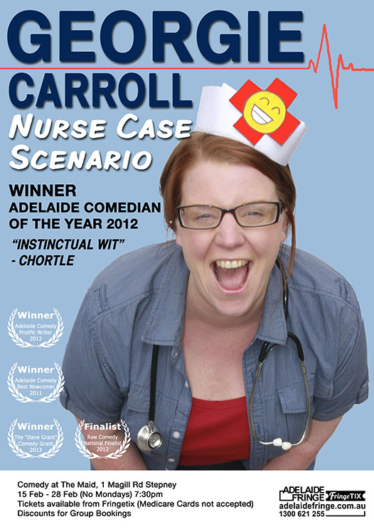 MY FRINGE POSTER- get your yix at http://www.tiny.cc/georgiecarrollncs